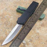 anti slip handle 도매-번개 자동 칼 BM knivestanto / 드롭 블레이드 방지 슬립 알루미늄 작은 자기 방어 전술 칼을 처리