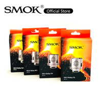 Wholesale v8 baby t8 resale online - SMOK TFV8 X Baby Coil Head Big Family V8 X Baby Q2 M2 X4 T6 T8 Replacement Coils For Stick V8 T Priv Kit TFV8 X baby Atomizer Original