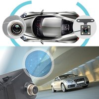 Wholesale car dvr mirror monitor camera resale online - 7 Inch P Car DVR GPS Car Rear View Mirror Monitor Reverse Camera Vehicle Driving Recorder