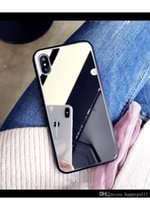 ingrosso i prezzi della fabbrica di trucco-Prezzo di fabbrica Buona qualità Custodia per cellulare di specchio di trucco della signora cassa calda del telefono di vendita per il iphone 6 7 8 x