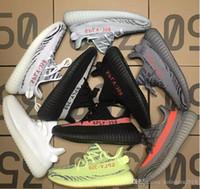 entrega gratuita de zapatillas al por mayor-adidas Yeezy off white 350 Mercancías vendedoras de las zapatillas de deporte de las zapatillas deportivas vendedora rápidas buena calidad y precio razonable vale el tener