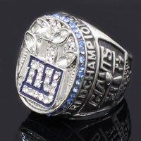 homens anel europeu venda por atacado-2011 New York Giants Campeonato Anéis Anéis de Acessórios Europeus e Americanos Dos Homens Do Vintage