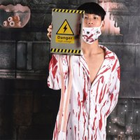 Wholesale gate homes for sale - Group buy High Voltage Electric Gate Halloween Decoration for Bar Ktv Club Mall Home Haunted House Escape Horror Decorative Retro Prop Toy
