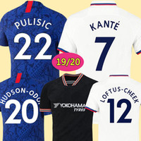 Wholesale blue white football jerseys resale online - Thailand PULISIC KANTE ABRAHAM LAMPARD ODOI WILLAN soccer jersey MOUNT Camiseta de football kits shirt MEN KIDS SETS