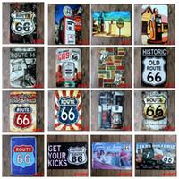 kalay işaretleri eski otomobiller toptan satış-20 * 30 cm Vintage 66 Metal Tabelalar 38 stilleri Duvar dekor AUTOS Arabalar Demir Resim Sergisi Araba Kalay Plaka Pub Bar Garaj Ev Dekorasyon AAA1604