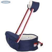 cinto de quadril do bebê venda por atacado-Respirável Bebê Transportadora Hipseat 2-18 Meses Baby Sling Cintura Caminhantes Banquinho Segurar Cinto Canguru Cinto Crianças Infantil Assento Hip Y19052102