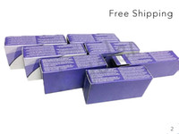 Wholesale colored storage boxes resale online - 3 Tone Colored Contact Lens Case Cosmetic Lens Box Eyewear Enhancer Package Same as Before