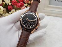 erwachsene tops großhandel-Alle Subdials Work Herren Damen Edelstahl Quarz Armbanduhren Stoppuhr Luxusuhren Top Marken Relogies für Herrenuhren
