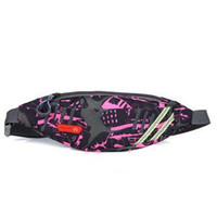 Wholesale outdoor waterproof waist bag resale online - Women Camouflage Sport Waist Bags Male Outdoor Fitness Single Shoulder Waterproof Bag Fanny Chest Pack Pouch Ladies Casual Packs LJJR169