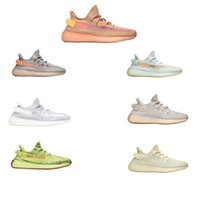 6bae31aa1 Adidas Yeezy Yeezys Yezzy Yezzys 350 V2 True Form Static Reflective  Hyperspace Clay Sesame Yellow Kanye West Boost Men Running Shoes Women  Sports Shoes ...