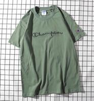 ingrosso uomo di tuta migliore-Best off Sellers designer di marca da uomo t-shirt di moda Alfabeto ricamo di alta qualità Marca tuta da uomo donna t-shirt campione di marca