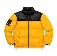 casaco de pele verde marinho venda por atacado-Luxo Mens Designer Casacos North Face novíssimo Down Jacket com Letter Altamente qualidade Casacos de inverno Sports Marca Parkas Top Clothings M-XL