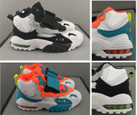 Wholesale basket girls resale online - New kids Speed Turf XZ Basketball Shoes Air Barrage Mid QS Chaussures children Trainers de basket ball boys girls Sneakers C Y