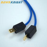 Wholesale bulb cable for sale - Group buy 2PCS H1 Bulb Male Femail Connector Headlight Fog Light Connector H1 Plug Socket High Quality Antioxidant Cable mm In Diameter