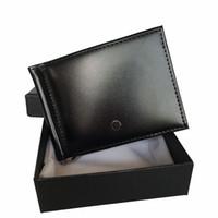 leder bargeld clip groihandel-Luxuxmänner Leder Kreditkarteninhaber deutschen Marke Designer Slim Taschen Wallet Cash Clip Dokument Kartenhalter Europäischen Bestseller