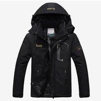 kışlık ceketler unisex parkas toptan satış-Erkekler Kış Kadife Parka Ceket Plus Size 6XL Kapşonlu WINDBREAKER Erkekler 2019 Sıcak Kalın Parkas yastıklı Coat Unisex Moda Dış Giyim T200102