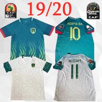 Wholesale national soccer sleeve resale online - New Mauritania Soccer Jersey Mauritania BESSAM Soccer Shirt Short sleeve Men National Team Football uniform