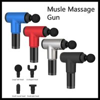 Wholesale legs massager resale online - Musle Relaxation Massage Gun mAh Decompression Massager for Neck Leg Shoulder Facial Workout without Types Head Accessories