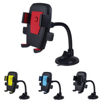 Wholesale long car mount cell phone holder for sale – best Cell Phone Holder Suction Cup Windshield Car Mount Degree Rotating With Long Gooseneck for IPhone Samsung Huawei Smartphones