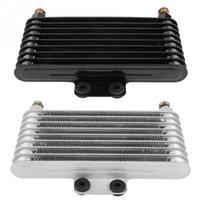 ölkühler großhandel-125ml Ölkühler Motoröl Cooling Kit Kühlersystem für GY6 100CC-150CC Motor Motorrad Kühlen Neu kommen