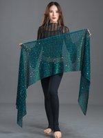 ingrosso sciarpa femminile indiana-Moda danza del ventre anca sciarpa femminile danza orientale costume per costume di Bollywood catena indiana accessori accessori 5 colori