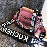exquisite damen handtaschen groihandel-Adisputent PU Messenger Bags Beliebte Weibliche Handtasche für Dame Entwurf Exquisite Umhängetasche Ferien Frauen beschriften Schulter