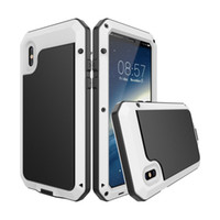 Wholesale iphone 5c cases waterproof shockproof online – custom For IPhone X XS s Plus S SE C Waterproof Case Shockproof Dustproof Metal Heavy Duty Defender L uxury Cases Designer Cover