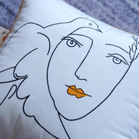 Wholesale picasso arts for sale - Group buy High Quality Super Soft Comfortable Velvet Cushion Cover Peace Dove Picasso Art Pillowcase Sofa Decorative Cushions Throw Pillow