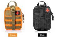 sacos médicos ao ar livre venda por atacado-kit de primeiros socorros para a caça ao ar livre tático de emergência saco médico de viagem