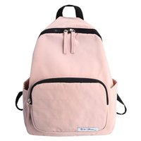 Wholesale nylon male package resale online - Charismatic2019 Nylon Pattern New A Bag Woman Korean Campus Student Both Shoulders Concise Male Backpack Travel Leisure Time Package