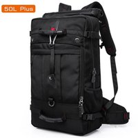 Wholesale quality laptops resale online - 50L High Capacity Quality Oxford Waterproof Laptop Backpack MultifunctionalMochila School bag Outdoor Hiking Travel Luggage Bag