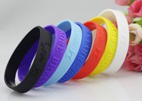 ingrosso bracciale kobe-OMH all'ingrosso braccialetti nero bule sport basket gel di silice mano cerchio i lakers KOBE firma cerchio mano braccialetto E1
