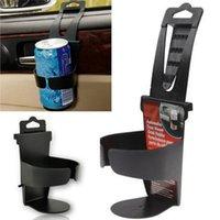 ingrosso doppia gps mount-acqua bevanda Multifuntional Water Beverage Mount Dual Hole Portabottiglie Portabicchiere Stand Car Styling