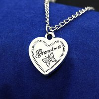 Wholesale grandma necklaces for sale - Group buy Exquisite Love Heart Necklaces BFF Jewelry Puzzle Square Gift Fashion Jewellrey Families Pendant Necklaces Grandma Family Necklace