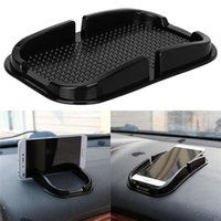 Wholesale mat holder for phone online – Car phone holder grip Creative Design Black Car Non Slip Sticky Auto Anti Slip Dashboard Pad Mat Holder For smartphones