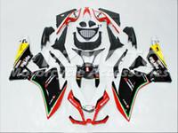 ingrosso kit abs per moto-Nuovi kit carenature moto iniezione ABS 100% misura per Aprilia RSV4 1000 09 10 11 12 13 14 15 2009-2015 set carrozzeria rosso nero giallo