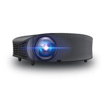 ingrosso film hd-Proiettore video portatile YG-600 Supporto proiettore a 2000 lumens 1080P HD per video / film / giochi / Home Theater con ingresso HDMI / VGA / USB / SD / AV