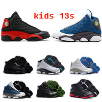 Wholesale tennis shoes children resale online - Kids s Basketball Shoes Children Boy Girl s Bred Chicago Flint Pink Sports Sneakers Kids Xmas Birthday Gift size