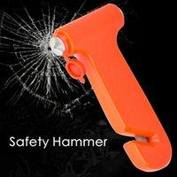 kırık pencere aracı toptan satış-Araba Güvenlik Çekiç Acil Kaçış Aracı İpucu Hayat Kurtarıcı Çekiç Kırık Pencereler Çok Fonksiyonlu Araba Combo Güvenlik Çekiç HHA271