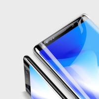 vollfilm-handy großhandel-Gehärtetes Glas für iPhoneXS-Wasser-Gel-Film Apple XR Handy-Vollbildfilm Samsung note9 Oberfläche Vollbild-Handyfilm