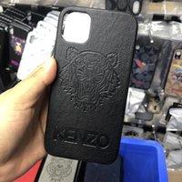 ingrosso casi di tigre-Custodia per cellulare antiscivolo Tiger per iPhone X XS MAX XR 8 7 6 6s Plus Cover rigida in TPU per iPhone 11 Pro