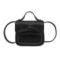 Gepäck & Taschen Crossbody-taschen Mode Kinder Handtasche Bogen-knoten Prinzessin Schulter Umhängetasche Mädchen Brieftasche