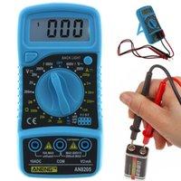 elektrischer verstärker großhandel-Neue Tester Multimeter Meter LCD DC / AC Werkzeug Elektrisches Instrument Volt Amp Amperemeter