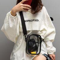 ingrosso portafogli di gelatina-Summer Transparent Jelly Bags Handbags For Women 2019 new Designer messenger bag Borsa a tracolla da donna Bolsa Silver Portafoglio mobile