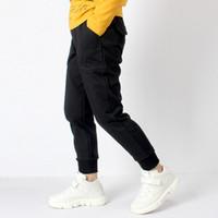 pantalón de adolescente al por mayor-Pantalones deportivos para niños Pantalones de algodón con estampado de letras Pantalones para niños adolescentes Pantalones de estilo casual Ropa para niños 6 8 10 12 14 años