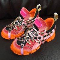top model hommes chaussures de sport achat en gros de-Flashtrek hommes femmes chaussures de luxe mode Designer chaussures de sport de qualité supérieure Designer taille 35-45 modèle HX11