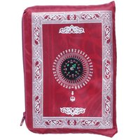 Wholesale pocket prayer mats resale online - Ramadan Islamic And Muslim Travel Prayer Mats Compass Pocket Size Tote Bags