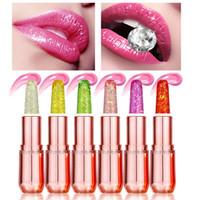 Wholesale lips protection for sale - Group buy Professional Lipstick Magic Colour Temperature Change Color Lip Balm Moisture Anti aging Protection Lip Balm Makeup