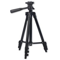Wholesale photo camera stand resale online - DSLR Camera Tripod Stand Photography Photo Video Aluminum Camera Tripod Stand Camera Tripod For Phone Gopro With Bag