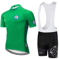 Wholesale black yellow bike jerseys for sale - Group buy new GREEN FRANCE cycling TEAM Clothing20D bike shorts Ropa Ciclismo summer quick dry pro BICYCLING Jersey bottom wear